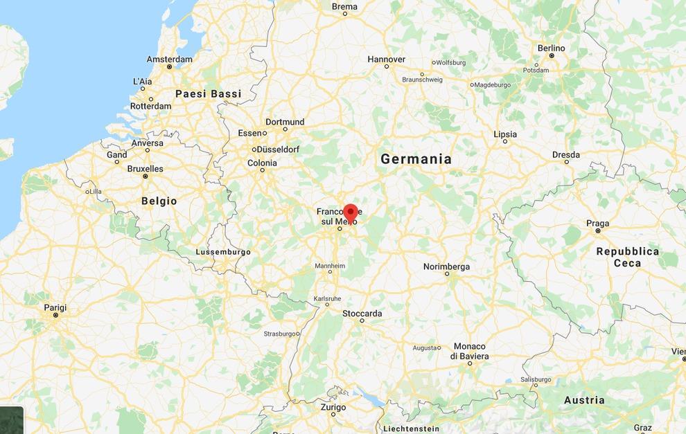 Dortmund Germania Cartina.Germania Spari Ad Hanau In Due Narghile Bar 11 Morti Tra Cui Il Killer E La Madre Si Indaga Per Terrorismo