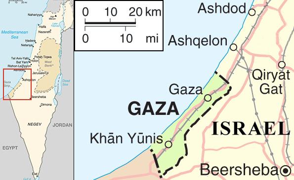 Israele Palestina Cartina.Israele E Striscia Di Gaza Notte Di Scontri 82 Morti Palestinesi E 6 Israeliani Voli Civili Deviati Da Tel Aviv